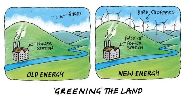 Les énergies alternatives renouvelables : peu renouvelables et très alternatives