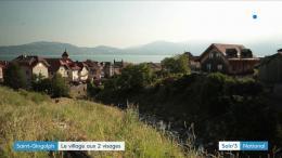 Saint-Gingolph : un village mi-suisse, mi-français (REPORTAGE)
