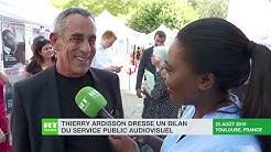 « Tout ce qui limite la liberté d'expression est dangereux » : Thierry Ardisson répond à RT France