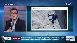 """Eric Woerth risée des réseaux sociaux, après sa photo """"d'alpinisme"""" dans un glacier du Mont Blanc"""