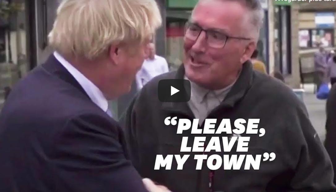 """Il invite Boris Johnson à """"quitter sa ville"""", les merdias applaudissent alors qu'ils auraient été scandalisés s'il avait dit la même chose à un immigré (VIDÉO)"""