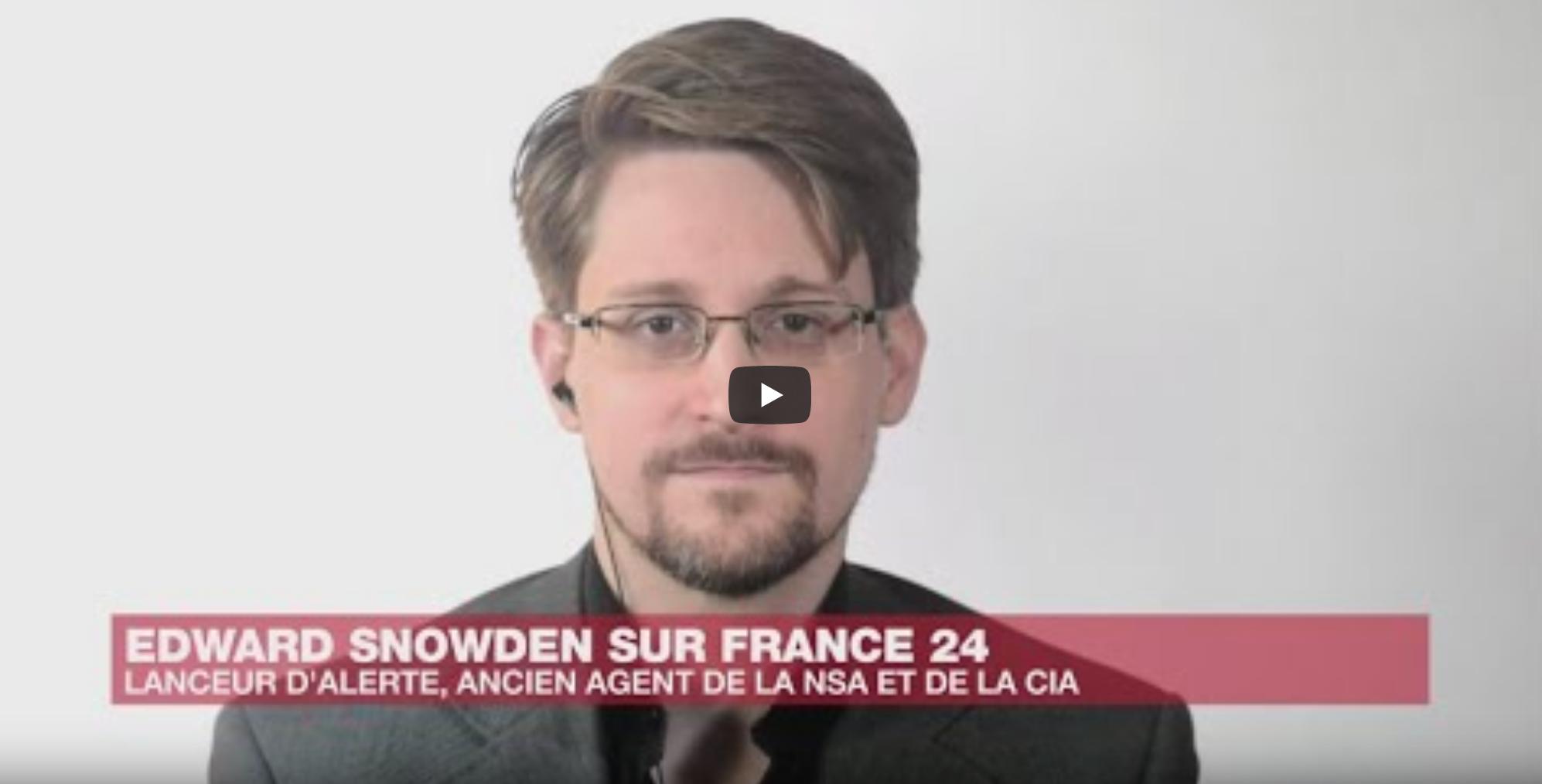 """Entretien exclusif avec Edward Snowden : """"On a changé les lois pour légitimer la surveillance"""" (VIDÉO)"""