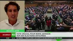 « Ce parlement (britannique, ndlr) se ridiculise et bafoue la démocratie depuis maintenant trois ans »