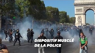 Les gilets jaunes et la police jouent au chat et la souris sur les Champs-Élysées (VIDÉO)