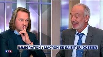 Geoffroy Lejeune donne une leçon à Gérard Miller sur l'immigration (VIDÉO)
