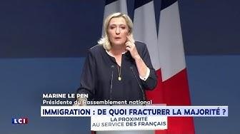 """Marine Le Pen : """"Les débats de Macron sont stériles"""" (VIDÉO)"""