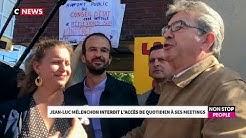 """Jean-Luc Mélenchon interdit l'accès de """"Quotidien"""" à ses meetings"""