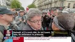 Jean-Luc Mélenchon qualifie les policiers de barbares, des propos jugés indignes par ceux-ci