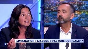 Invasion immigrée : Robert Ménard face à une députée LREM moralisatrice (DÉBAT)