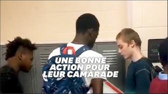 Tennessee : deux élèves noirs qui harcelaient un élève blanc lui présentent leurs excuses et lui offrent des vêtements de racaille (VIDÉO)