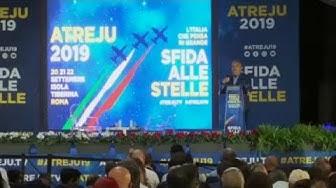 Des populistes européens se retrouvent à Rome (REPORTAGE)
