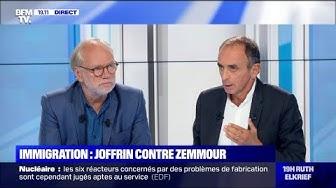 Immigration : Éric Zemmour contre Laurent Joffrin (DÉBAT)