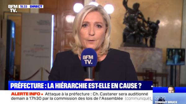 Immigration et terrorisme islamiste : Marine Le Pen écrase une Ruth Elkrief moralisatrice (VIDÉO)