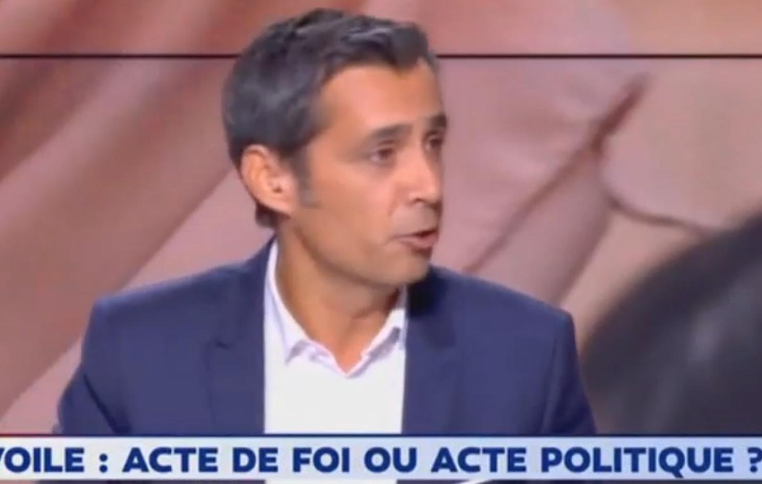 """Courageux : Olivier Galzi (LCI) compare le voile islamiste à """"l'uniforme SS"""" (VIDÉO)"""