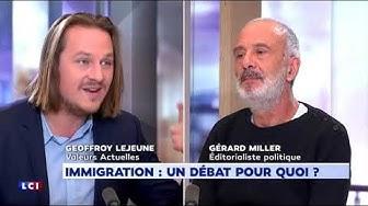 """Geoffroy Lejeune : """"Ce débat sur l'immigration est une supercherie"""" (VIDÉO)"""