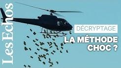 Un hélicoptère qui lance des billets pour relancer l'économie ?