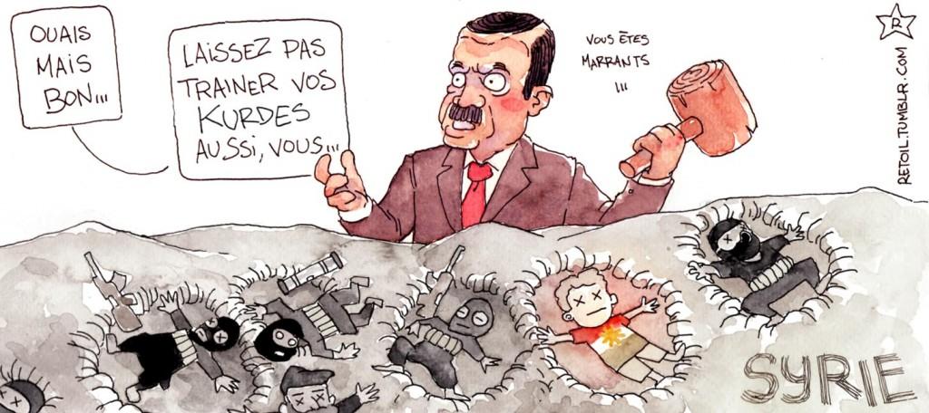 La Syrie toujours victime de stratégies étrangères