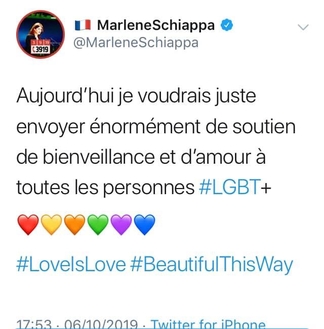Marlène Schiappa : même pas fichue de mettre les couleurs de l'arc-en-ciel dans l'ordre…