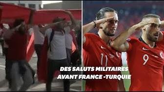 Avant France-Turquie, des supporters reproduisent le salut militaire (VIDÉO)