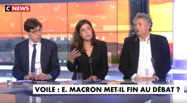 """Charlotte d'Ornellas : """"Macron n'a rien compris sur le problème du voile"""" (VIDÉO)"""