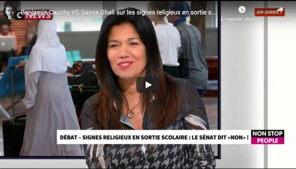 Voile islamiste : Benjamin Cauchy VS Samia Ghali (DÉBAT)