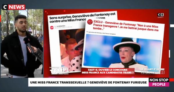 """Une Miss France transexuelle ? """"Ça me choquerait beaucoup pour l'image de la France"""" (VIDÉO)"""