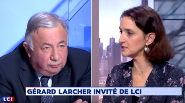 Désaccord entre Barbara Lefebvre et Gérard Larcher sur le voile ; la droite soumise à la gauche (VIDÉO)