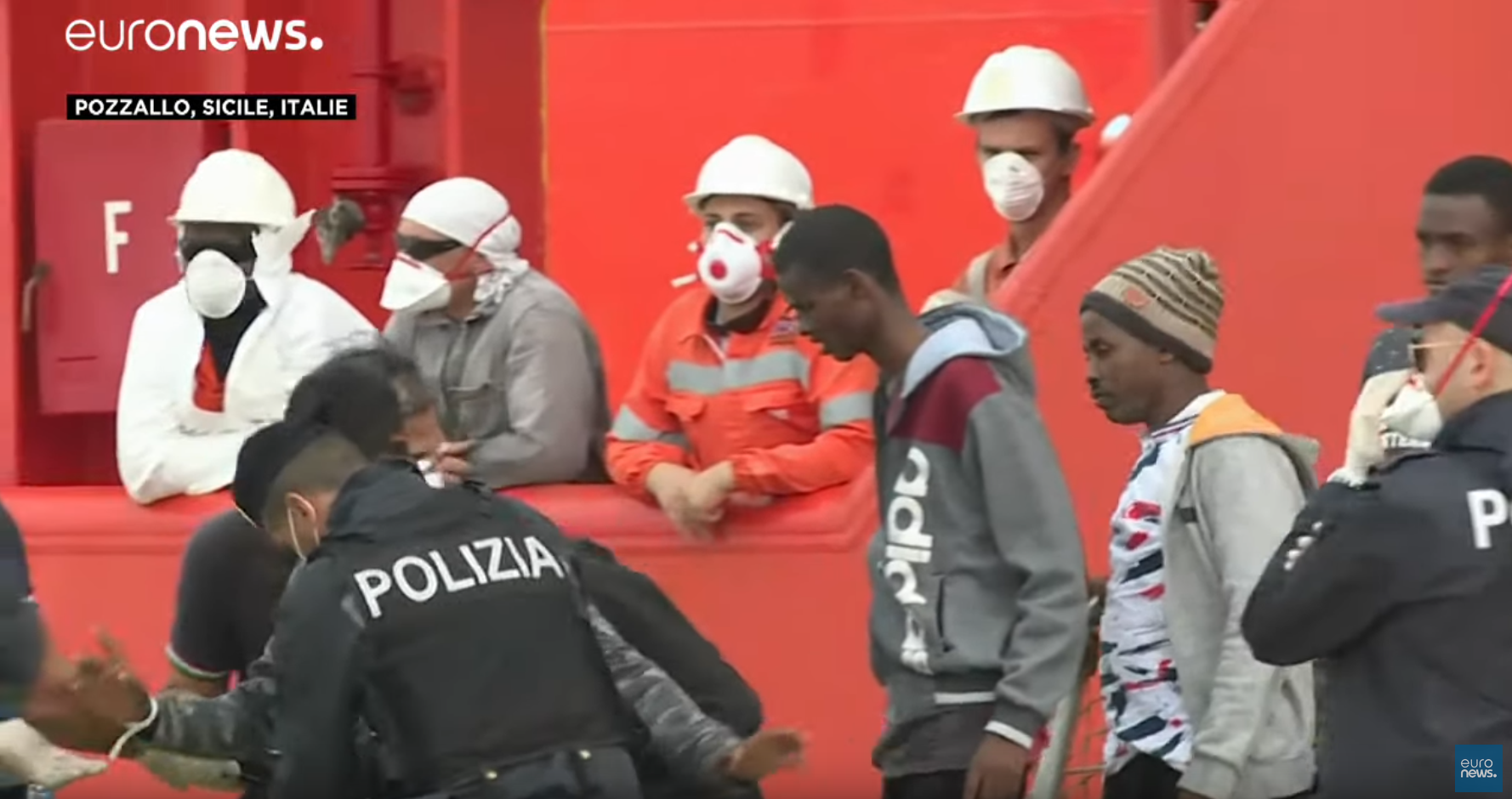 200 nouveaux clandestins ce dimanche en Italie, bientôt répartis dans toute l'UE