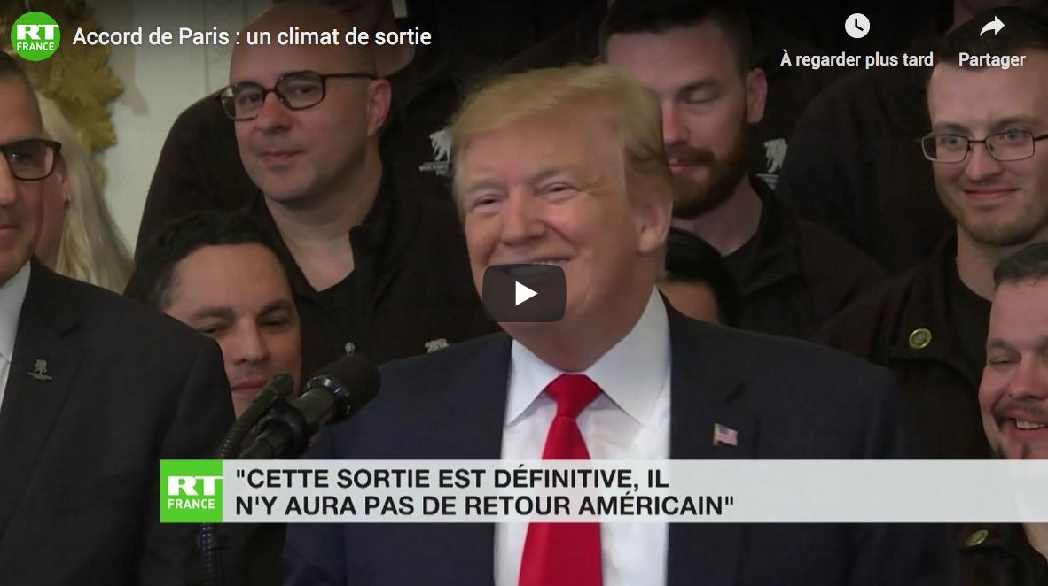 Accord de Paris : un climat de sortie