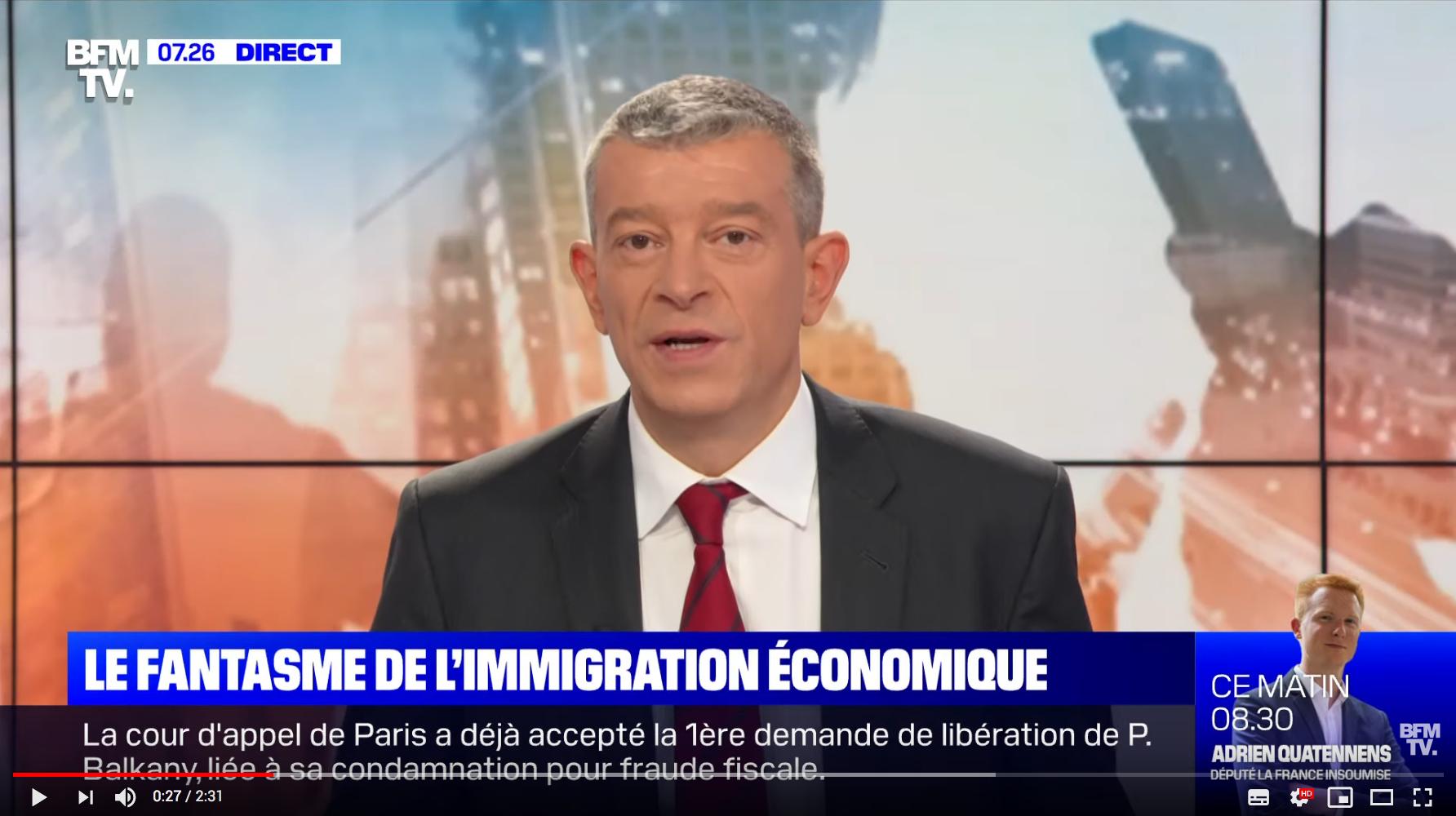 Le fantasme de l'immigration économique (Nicolas Doze)