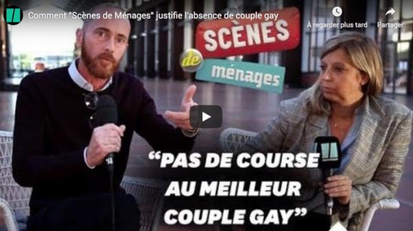 """Le HuffPost inquiet : """"Scènes de Ménage"""" (M6) fête ses dix ans mais n'a toujours pas ses gentils zomos chargés de vous faire évoluer sur les parodies LGBT du mariage, la PMA sans père ou la GPA"""