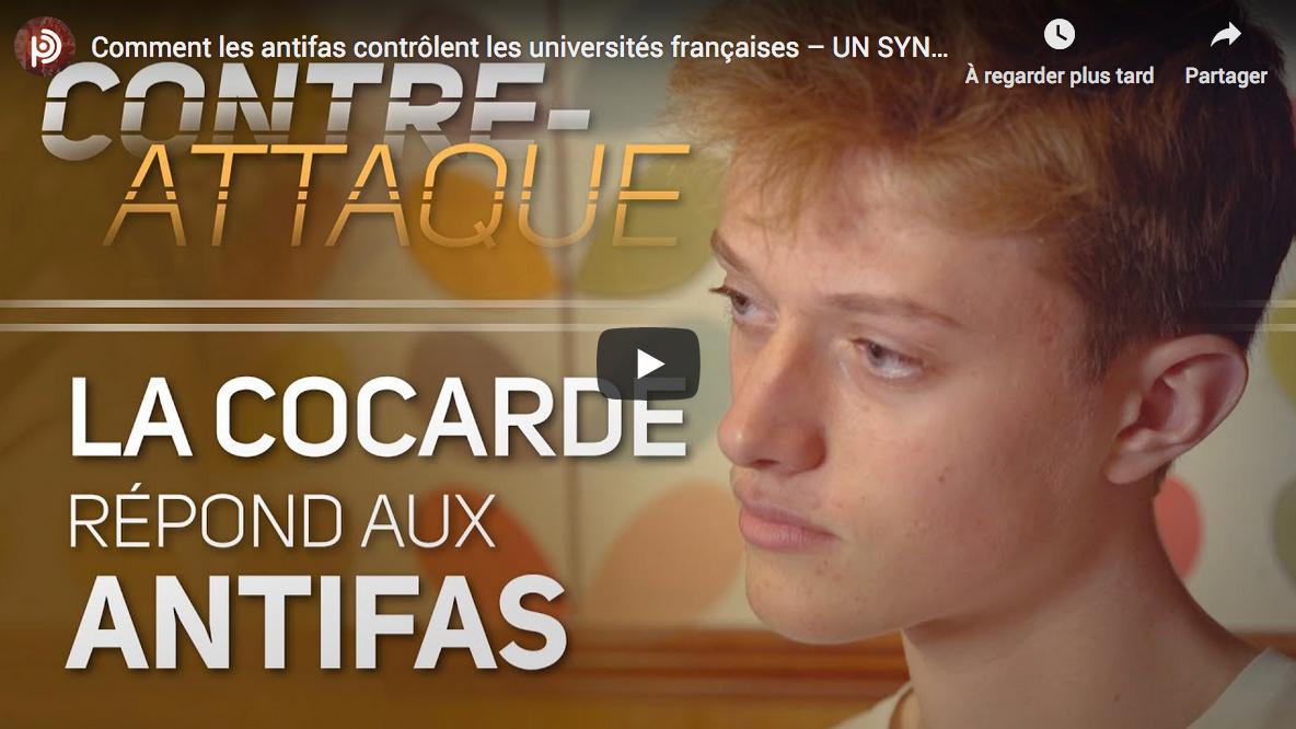 Comment les antifas contrôlent les universités françaises (Un syndicat étudiant contre-attaque)