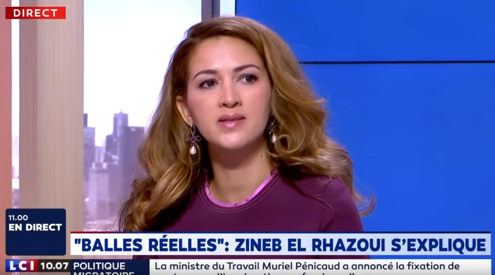 """""""Il faut tirer à balles réelles"""" : les explications de Zineb El Rhazaoui (VIDÉO)"""