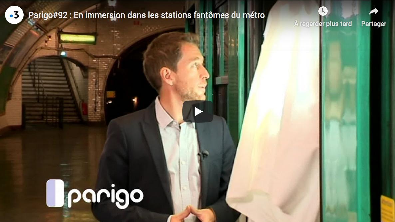 En immersion dans les stations fantômes du métro (REPORTAGE)