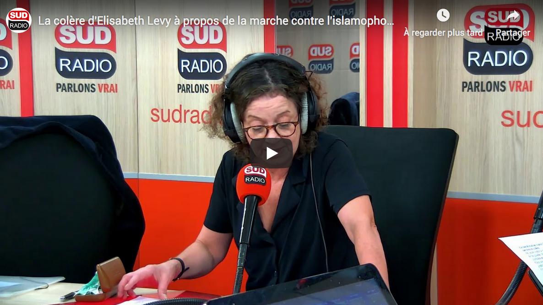 La colère d'Élisabeth Lévy à propos de la marche contre l'islamophobie (VIDÉO)