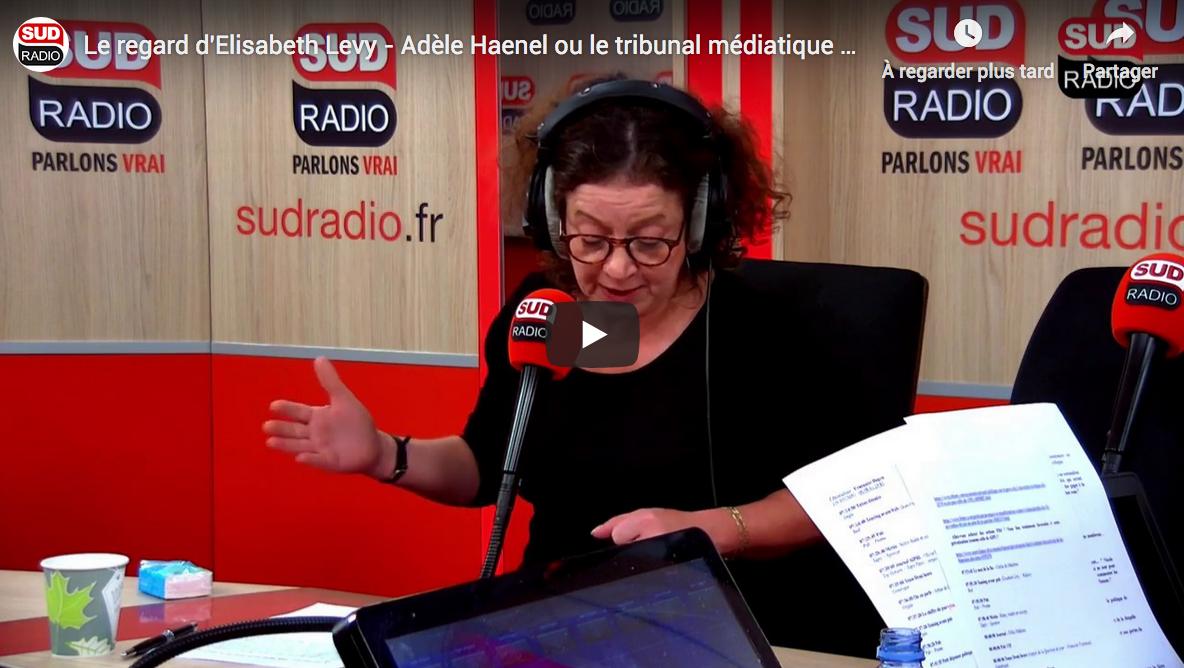 Élisabeth Lévy : Adèle Haenel ou le tribunal médiatique des réseaux sociaux (VIDÉO)
