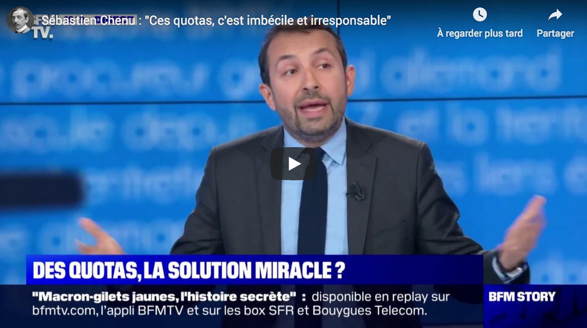 """Sébastien Chenu sur l'invasion immigrée qui n'en finit plus : """"Ces quotas, c'est imbécile et irresponsable"""" (VIDÉO)"""