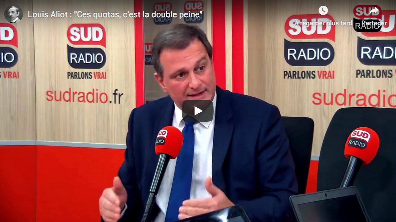 """Louis Aliot : """"Ces quotas, c'est la double peine"""" pour la France et les Français (VIDÉO)"""