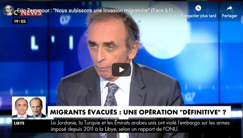 Nouveau record d'audience pour Éric Zemmour sur CNEWS