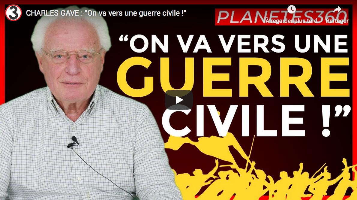"Charles Gave : ""On va vers une guerre civile !"" (VIDÉO)"