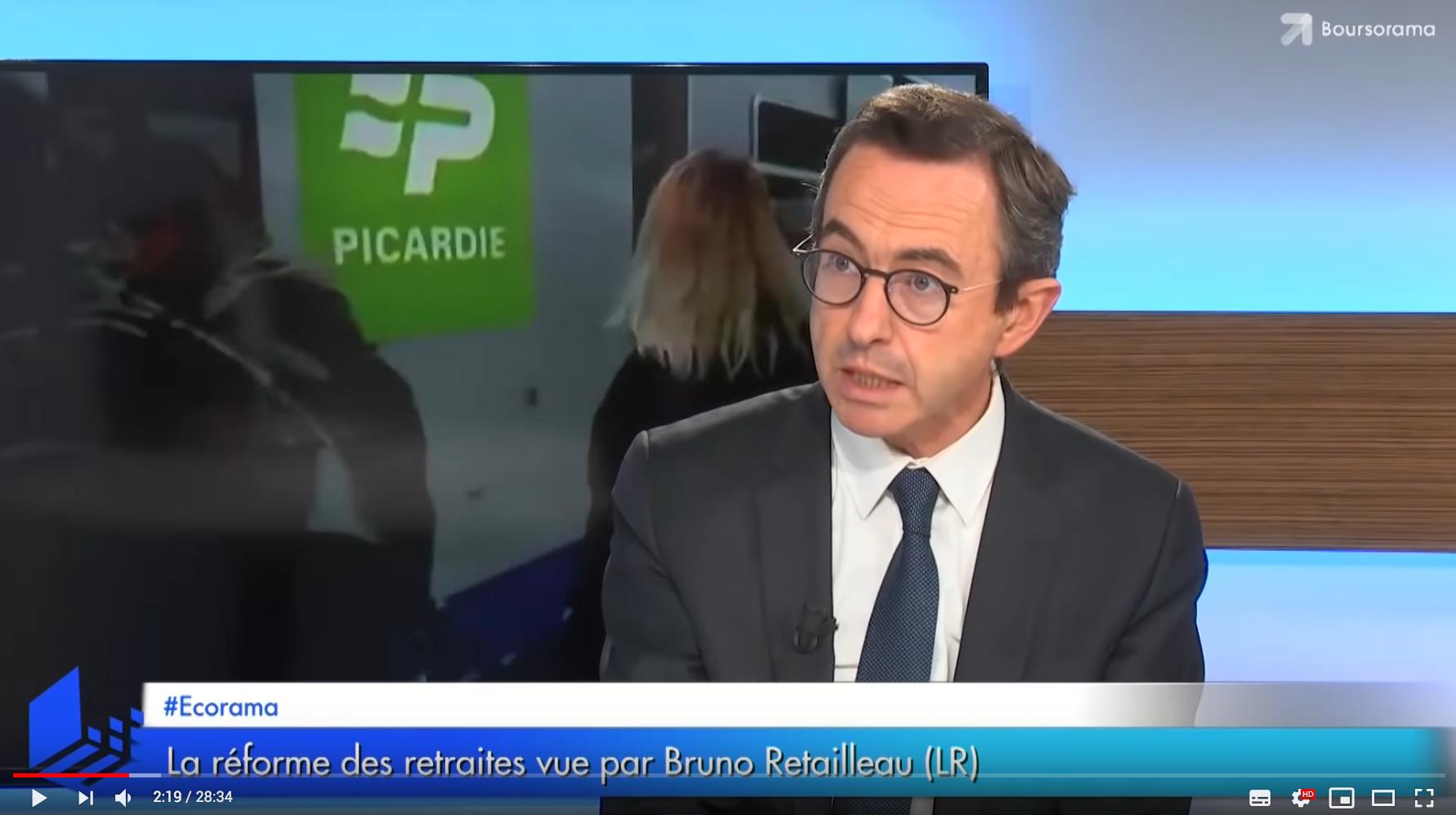 """Bruno Retailleau : """"L'objectif de Macron : mettre la main sur les 160 milliards d'excédent des régimes privés !"""" (VIDÉO)"""