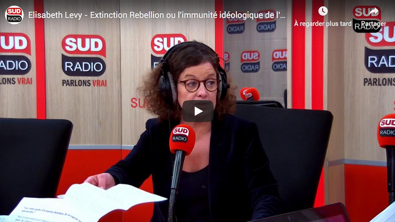 Extinction Rébellion ou l'immunité idéologique de l'extrême-gauche (Elisabeth Levy)