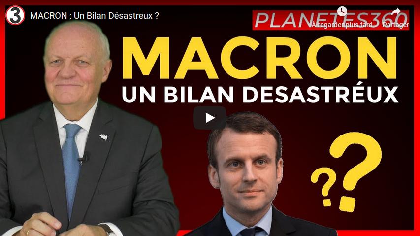 Emmanuel Macron : un bilan désastreux ? (François Asselineau)