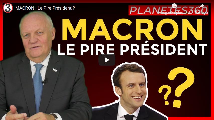 Emmanuel Macron : le pire Président ? (François Asselineau)