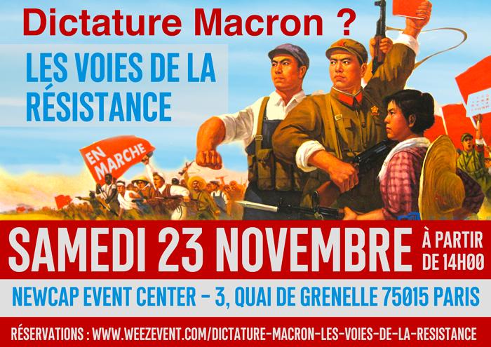 Agenda : 5ème Forum de la Dissidence le 23 novembre à Paris