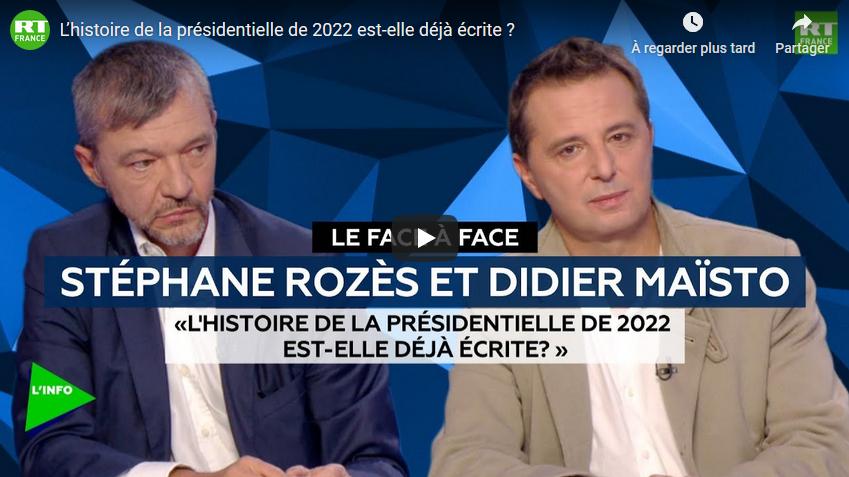 L'histoire de la présidentielle de 2022 est-elle déjà écrite ? (DEBAT)