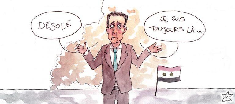 Lorsque Bachar donne, hélas, une leçon à la France…