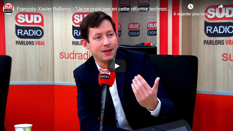 """François-Xavier Bellamy : """"L'écologie pourrait devenir un nouvel autoritarisme"""" (VIDÉO)"""