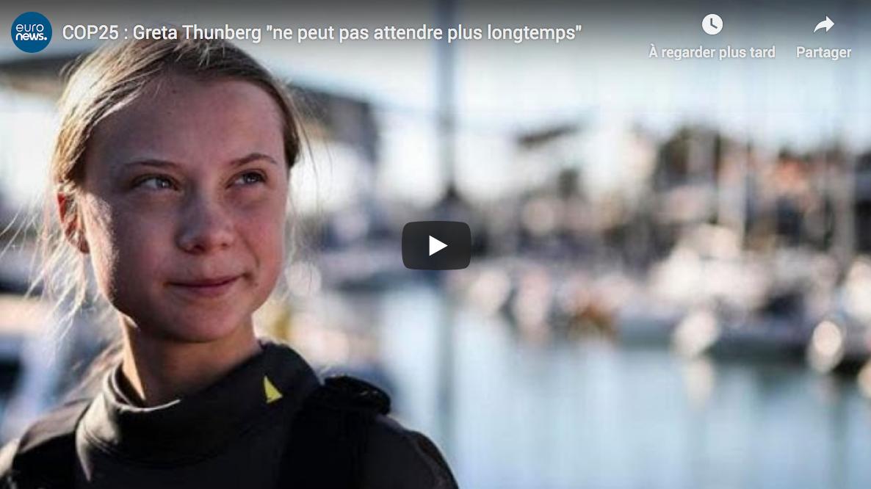 "Au fou ! Greta Thunberg ""ne peut pas attendre plus longtemps"" (sic)"