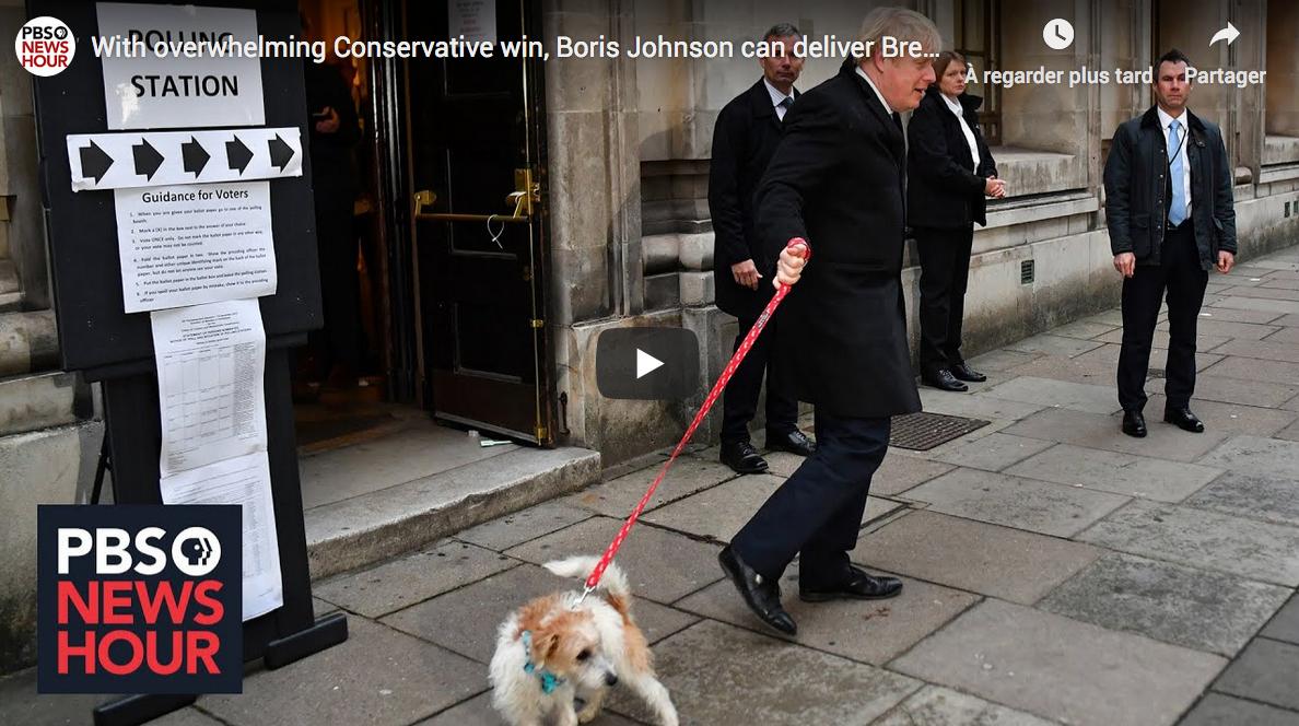 Royaume-Uni : les Conservateurs écrasent les Travaillistes, le Brexit aura bien lieu